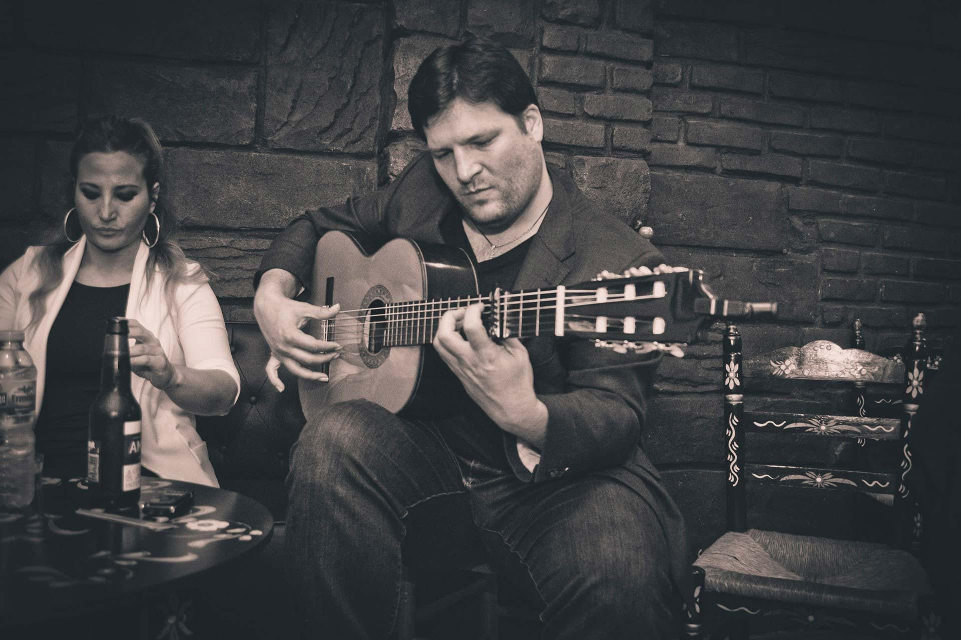 Tablao flamenco en el centro de Sevilla gratis