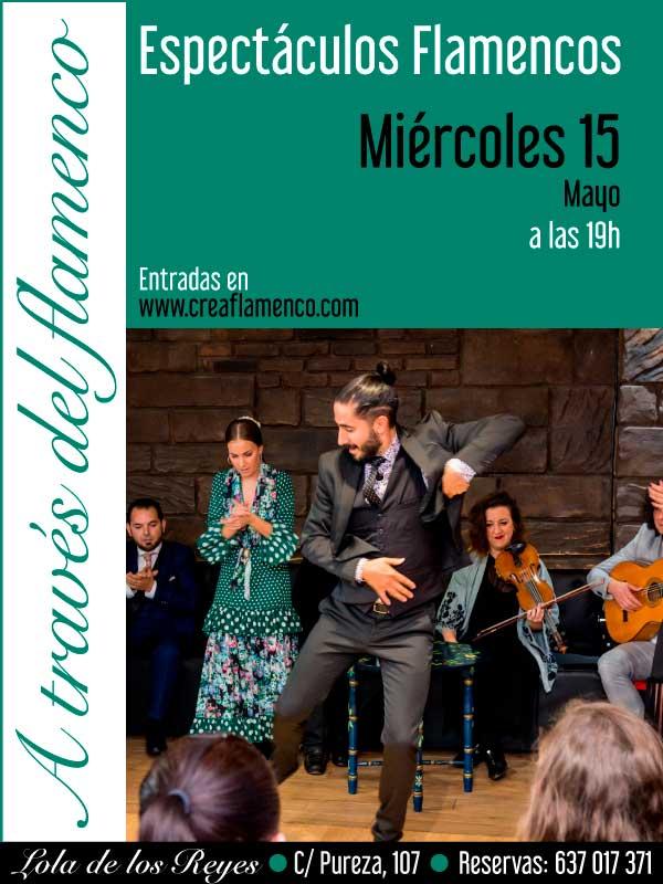 Evento 15 De Mayo Tablao Flamenco En Sevilla Lola De Los Reyes